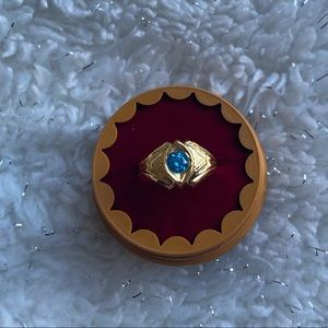 New in box 22k solid gold Baby ring